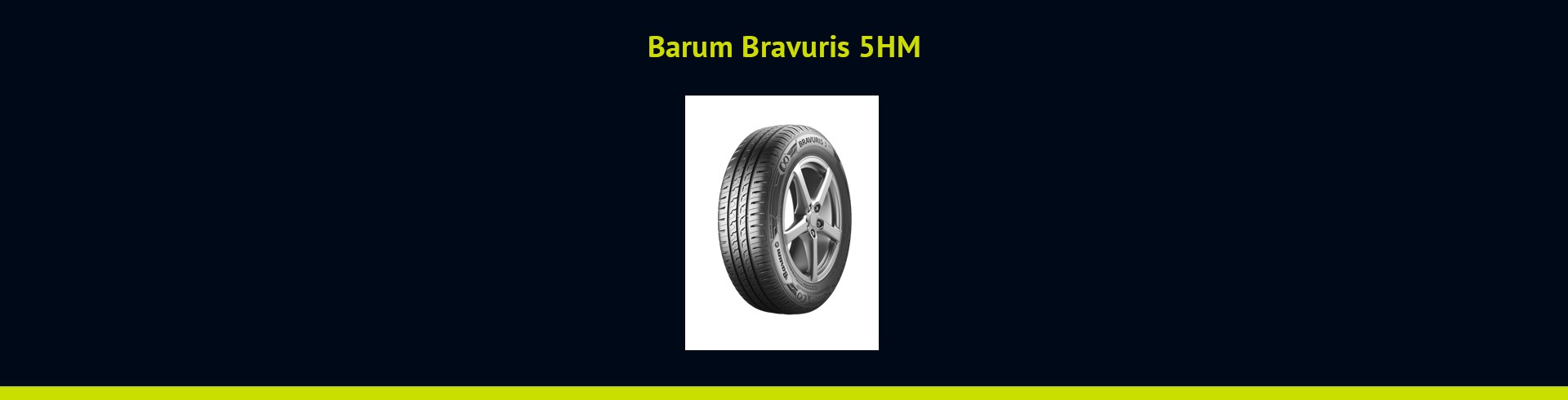 Barum Bravuris 5HM